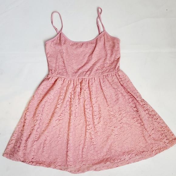 Garage Lace Pastel Summer Dress szM
